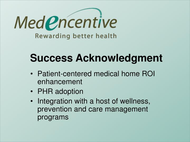 Patient-centered medical home ROI enhancement