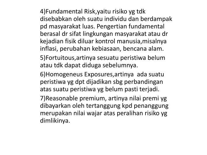4)Fundamental