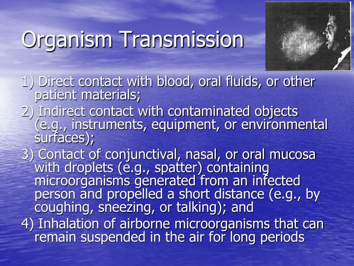 Organism Transmission