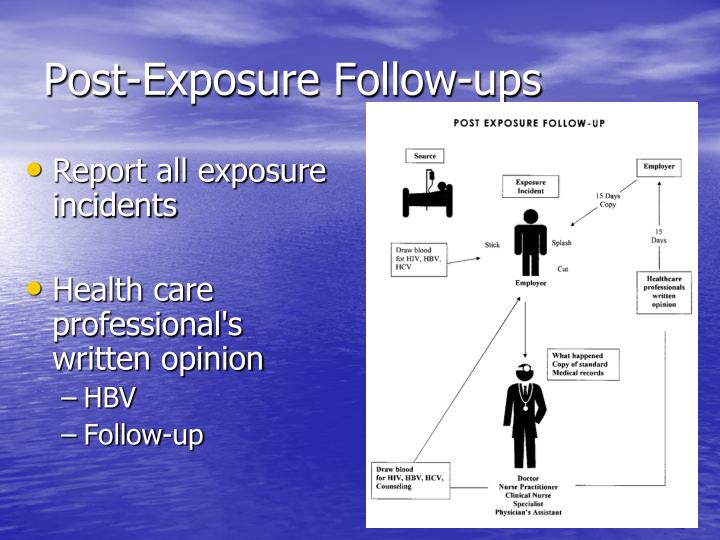 Post-Exposure Follow-ups