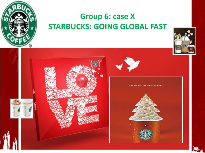 starbucks going global fast marketing essay Please write 4-6 pages research paper answering the following questions in apa format with references no plagiarism – i will be checking it on turnit in thank you.