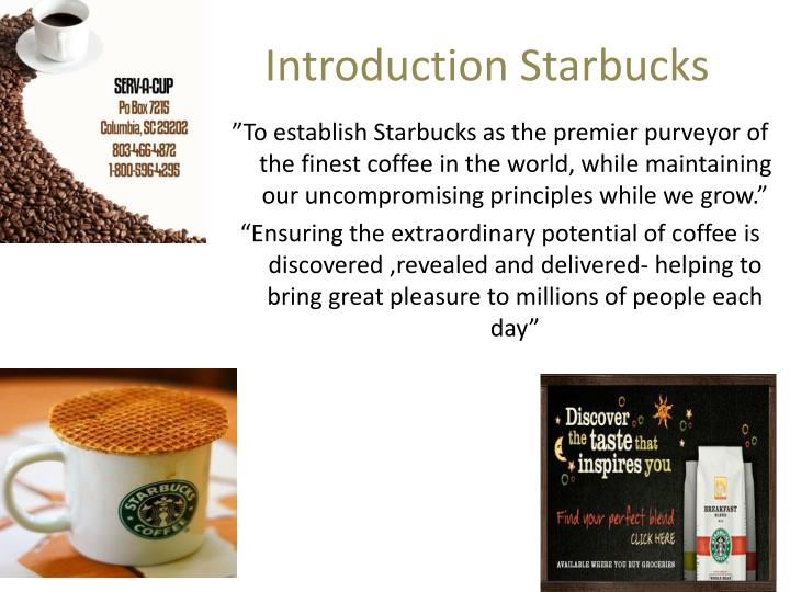 international marketing case study starbucks going Ambaiu mba graduation paper starbucks corporation case study  and as i was going to turn on my  the seeds of the starbucks corporation were.