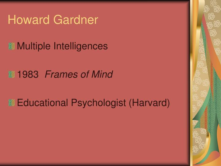 howard gardner n.