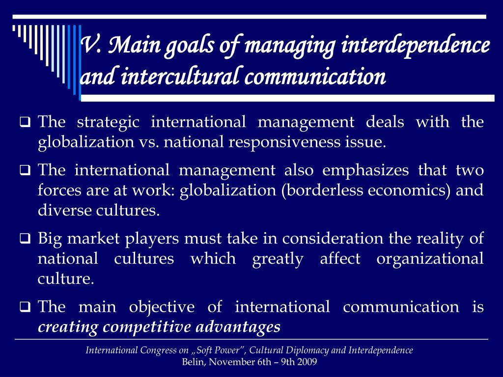 PPT - Intercultural communication in managing global