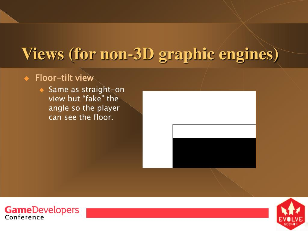 Views (for non-3D graphic engines)