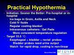 practical hypothermia1
