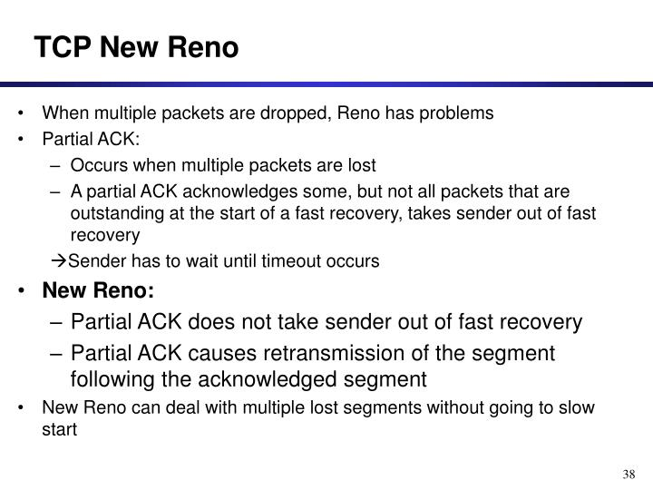 TCP New Reno
