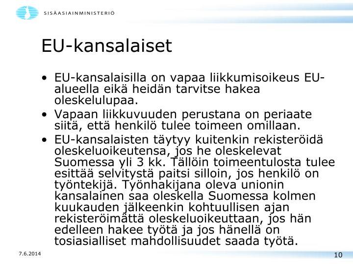 EU-kansalaiset