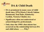 da child death