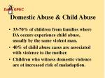 domestic abuse child abuse