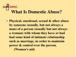 what is domestic abuse3
