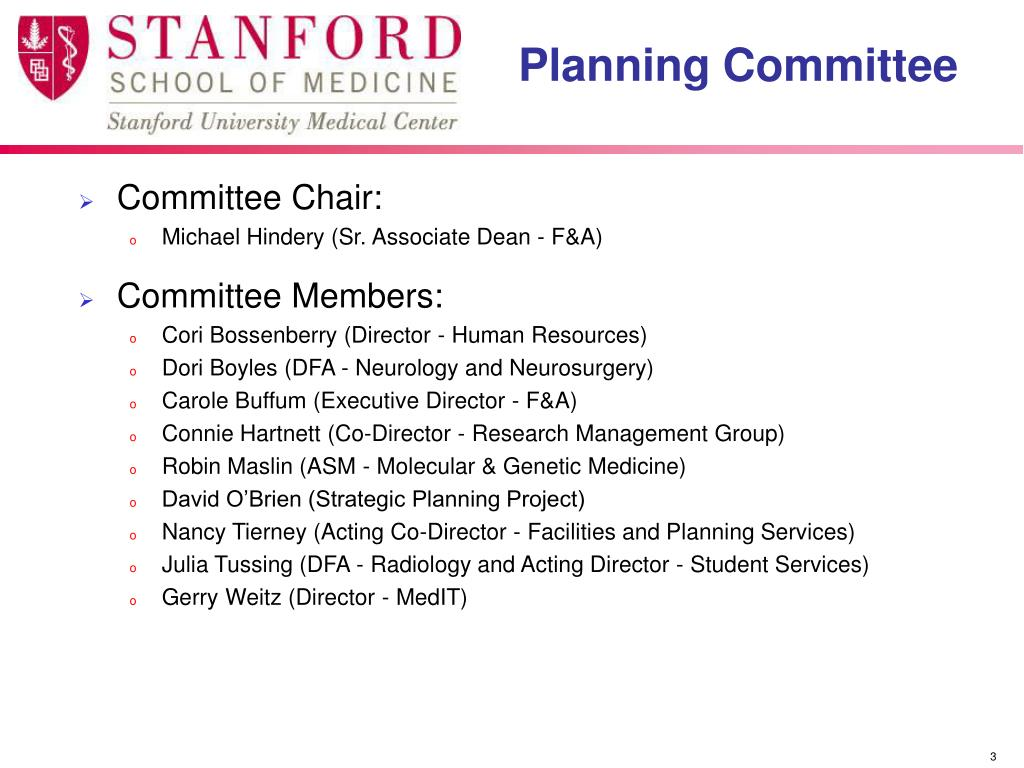 Committee Chair: