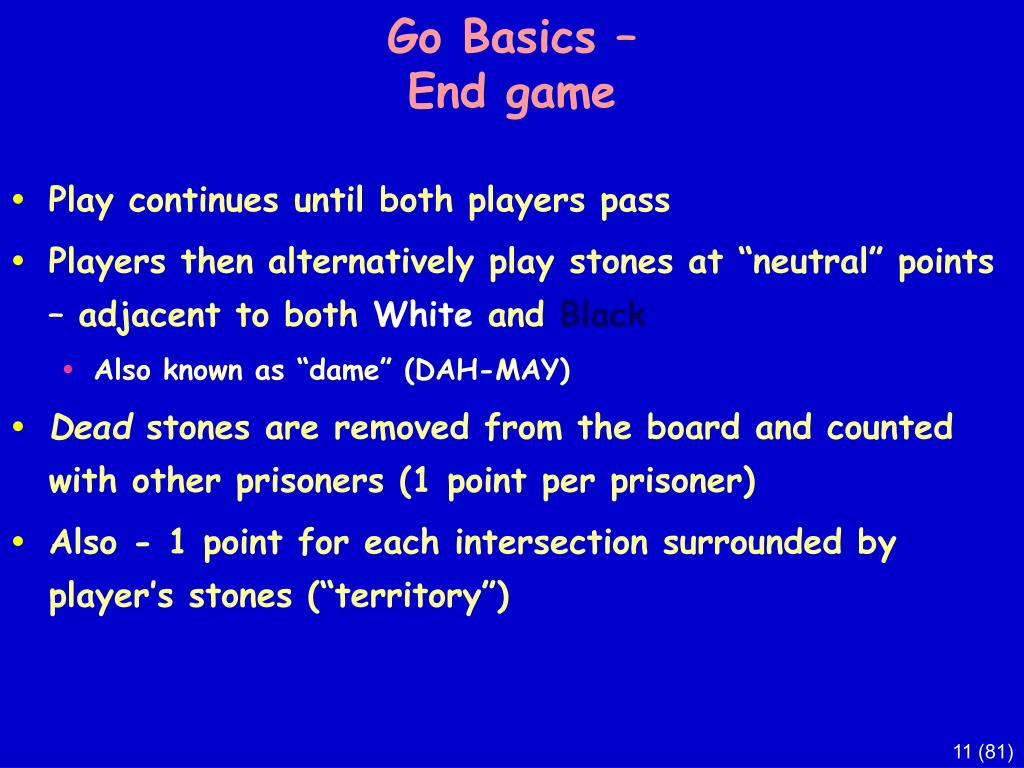 Go Basics –