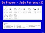go players jago patterns 2
