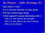 go players jago strategy 1