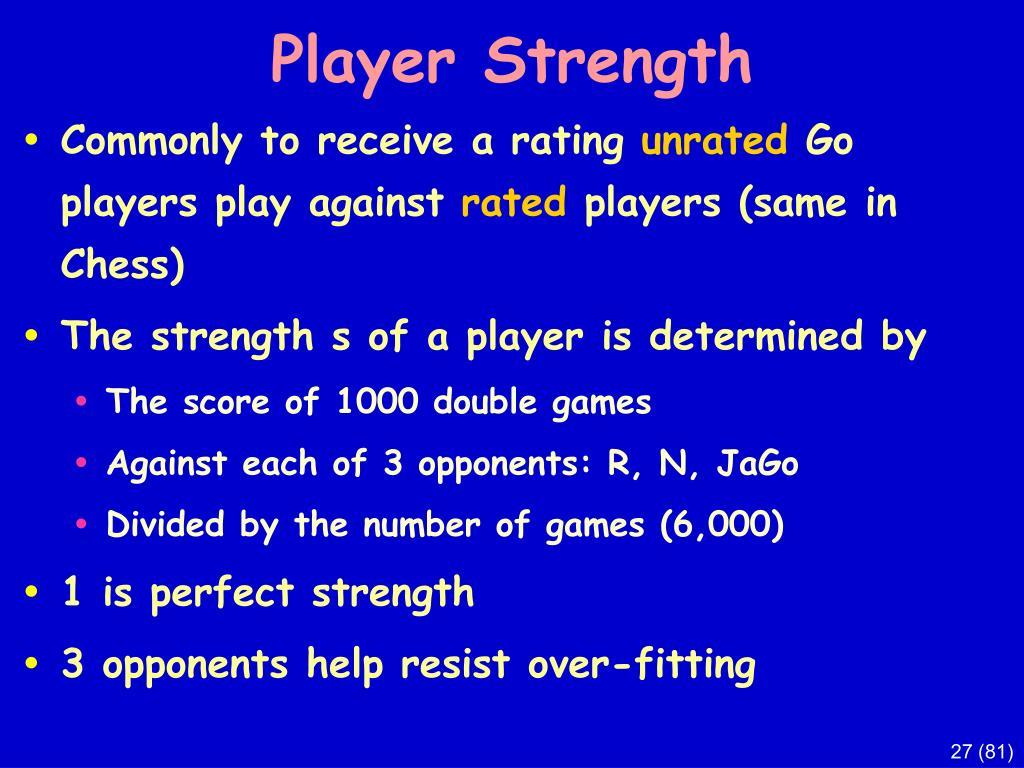 Player Strength