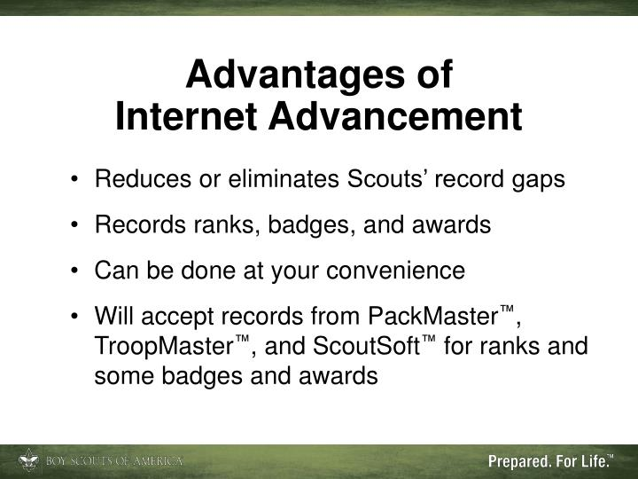 advantages of internet archives It mentions internet advantages and internet disadvantages as we know internet term has been derived from interconnection of networks following are the advantages of internet: ➨it provides ease and convenience of paying various bills by sitting at cosy home environment without getting tired.