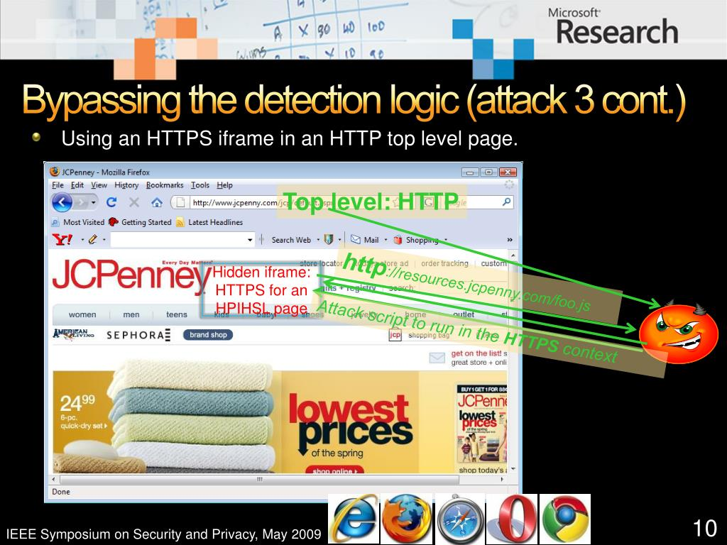Bypassing the detection logic (attack 3 cont.)