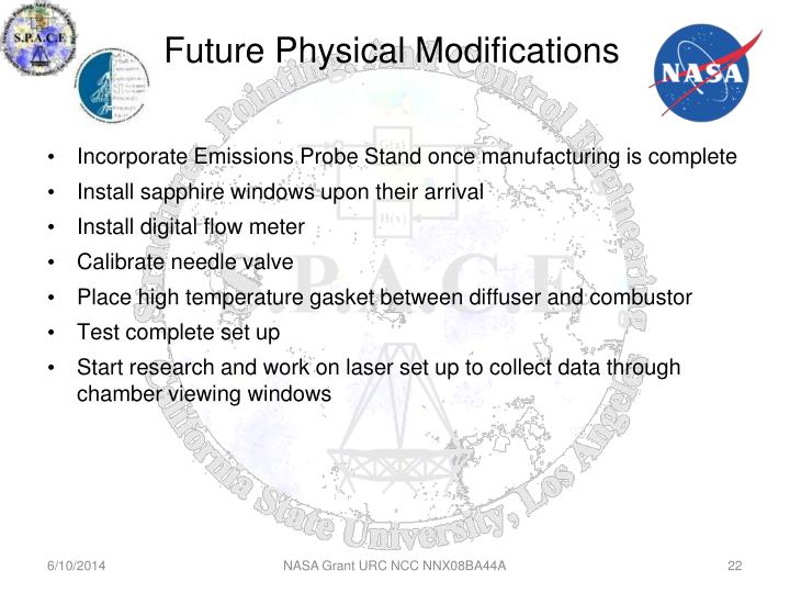 Future Physical Modifications