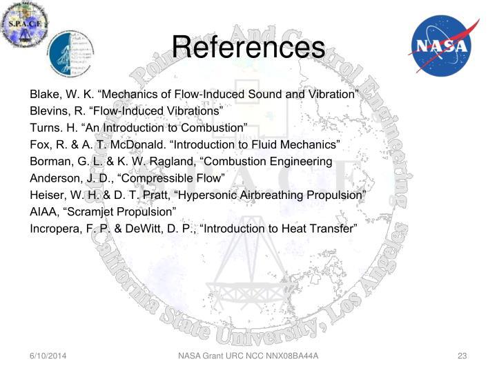 NASA Grant URC NCC NNX08BA44A