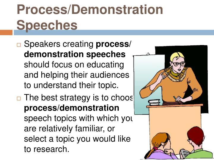 process speech topics