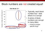 block numbers are not created equal