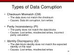 types of data corruption