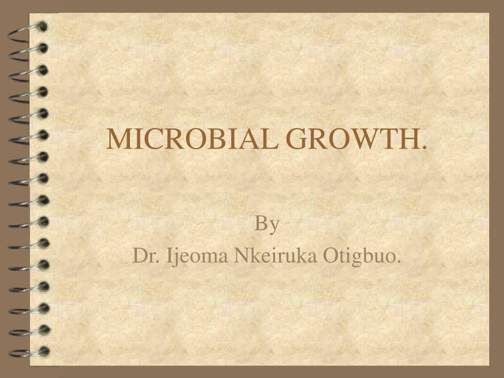 microbial growth l.