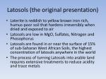 latosols the original presentation