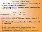 arrhenius acids bases
