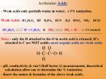 arrhenius acids8