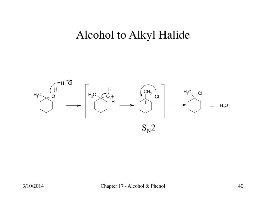 Alcohol to Alkyl Halide