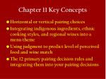 chapter 11 key concepts