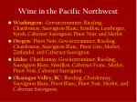 wine in the pacific northwest