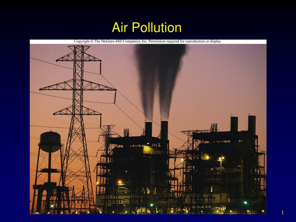air pollution l.