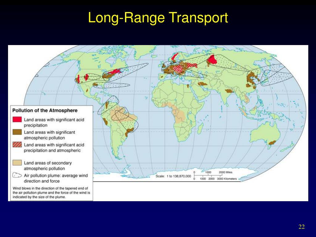 Long-Range Transport