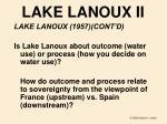 lake lanoux ii