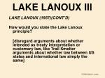 lake lanoux iii