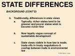 state differences