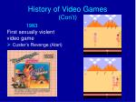 history of video games con t7