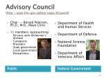 advisory council http aspe hhs gov daltcp napa council