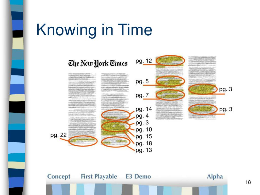 Knowing in Time