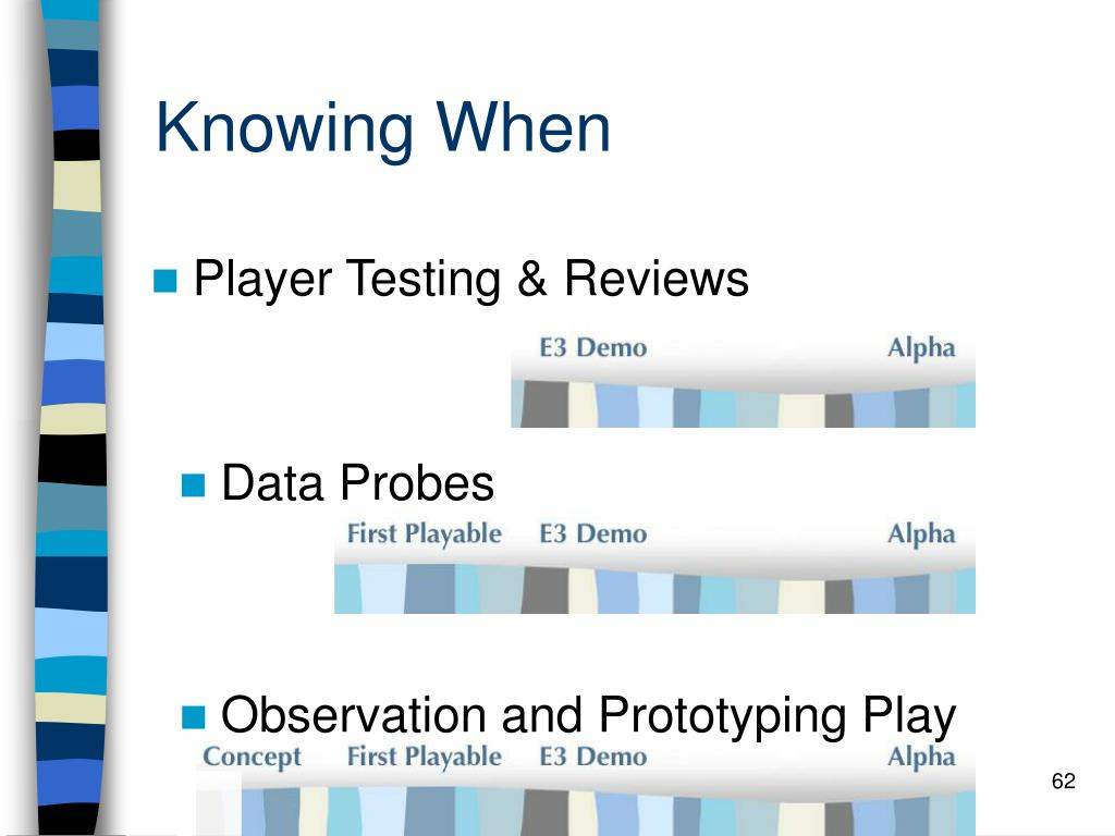 Knowing When