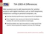 tia 1083 a differences1