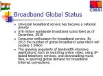broadband global status