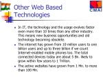 other web based technologies