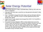 solar energy potential