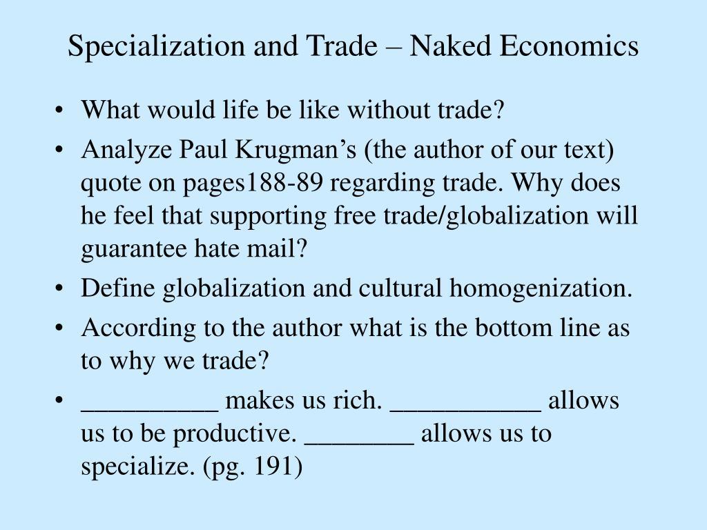 Trade naked pics