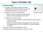 types of outliers ii