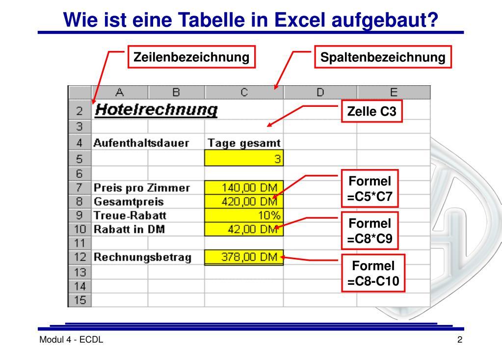 Was Ist Eine Tabellenkalkulation